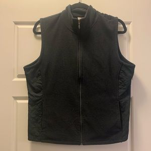 Columbia XCO black vest fleece quilt